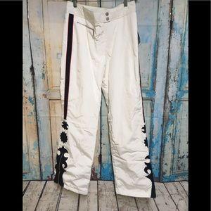 NEW M. Miller White Black Ski Snowboard Pants M